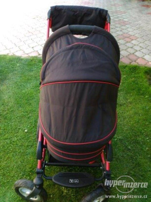 Kočárek Trojkombin ABC Design Viper 4s 2013 - červeno-černý - foto 12
