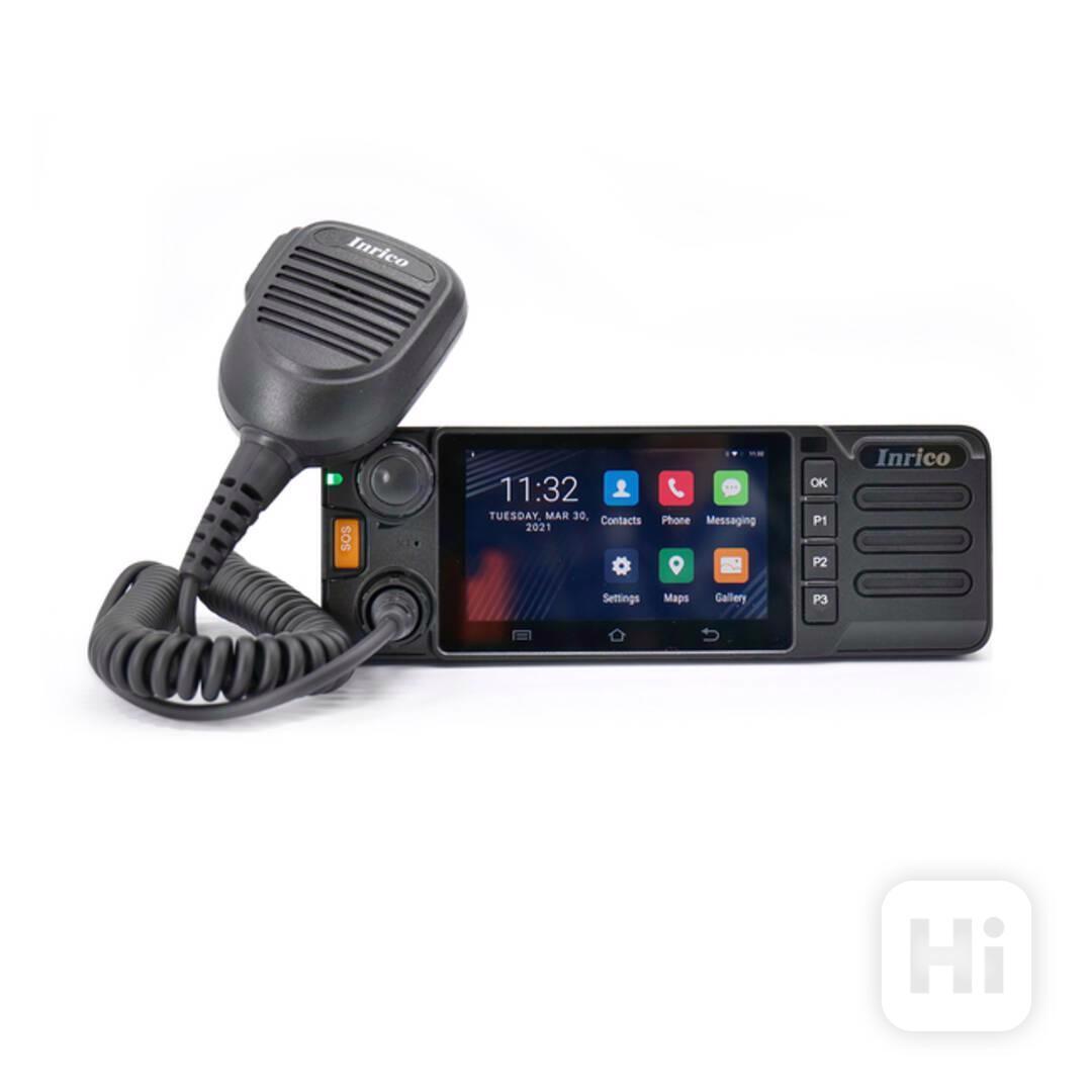 Vozidlová digitální radiostanice Inrico TM-9 LTE 4G - foto 1
