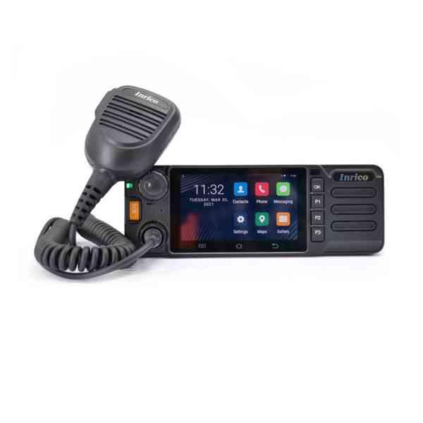 Vozidlová digitální radiostanice Inrico TM-9 LTE 4G