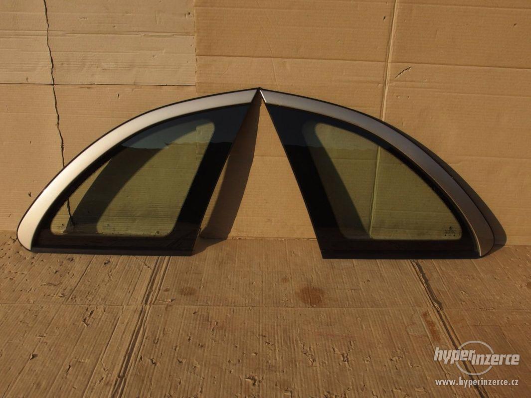 Boční zadní tónovaná okna Škoda Fabia I combi - foto 1