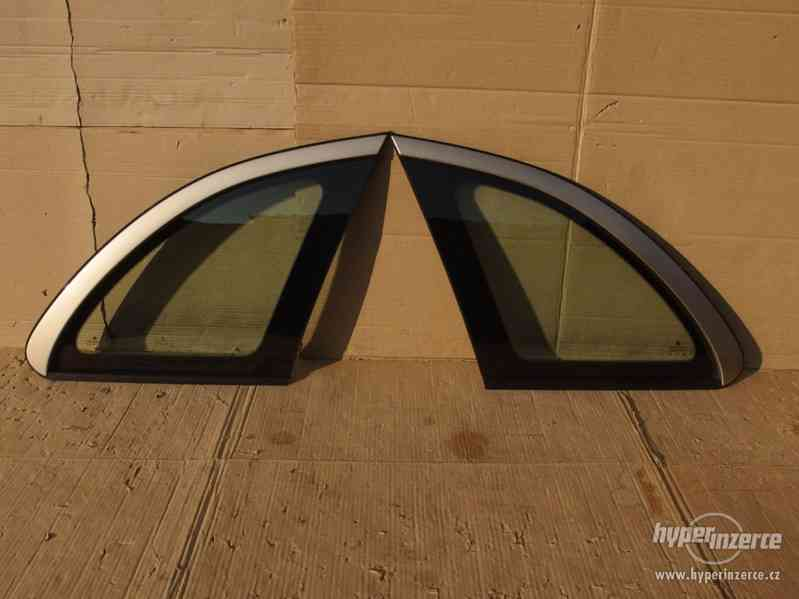 Boční zadní tónovaná okna Škoda Fabia I combi