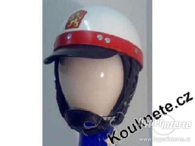 Koupím starou policejní VB helmu, moto rajtky, bundu - foto 1