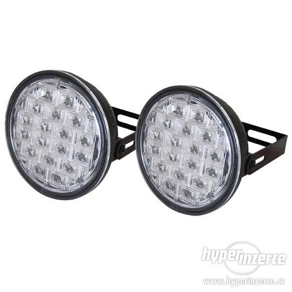 Světla pro denní svícení LED DRL019/pir, homologace - foto 1