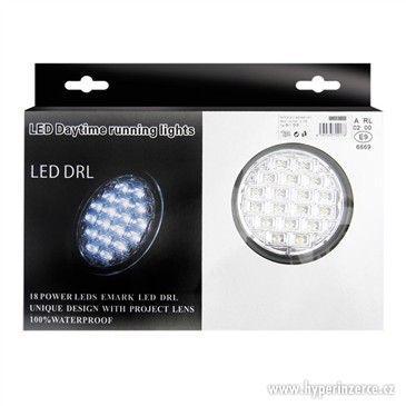 Světla pro denní svícení LED DRL019/pir, homologace - foto 2