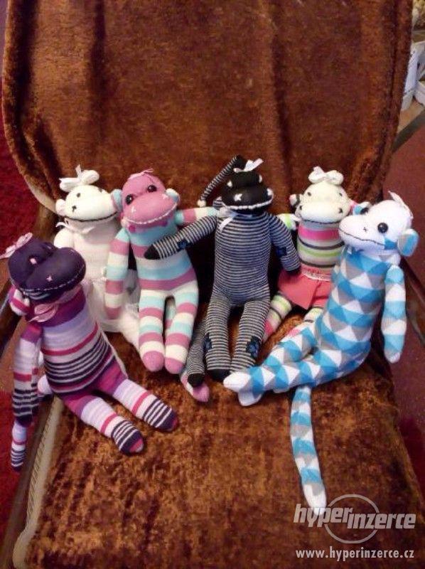 opičky z ponožek