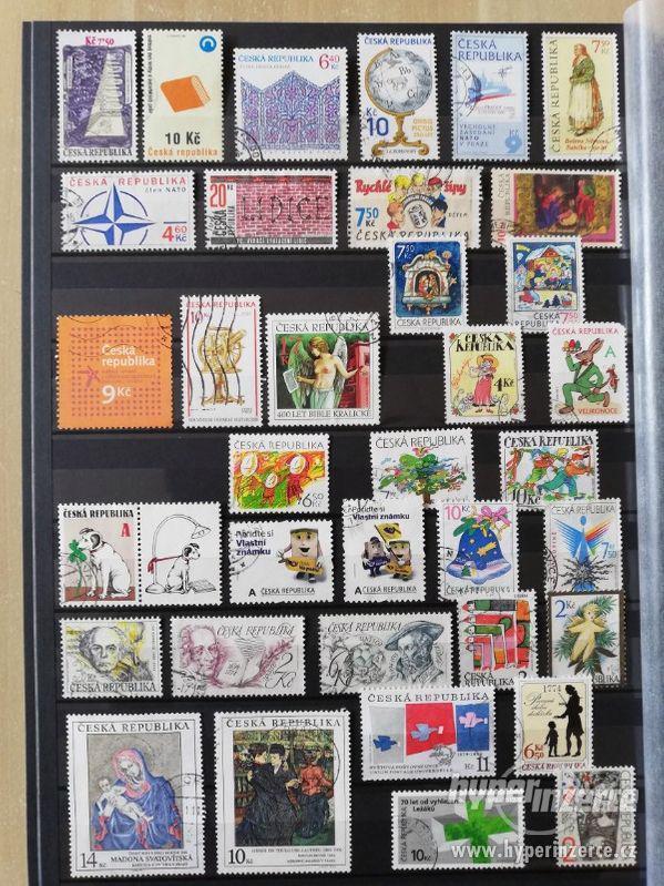 Prodám sbírku poštovních známek Česká republika 1993-2013 - foto 3
