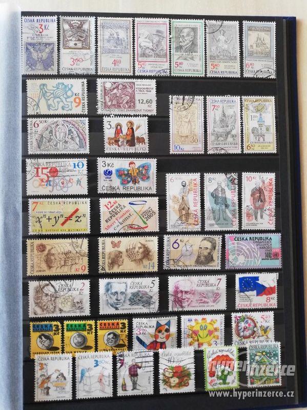Prodám sbírku poštovních známek Česká republika 1993-2013 - foto 4