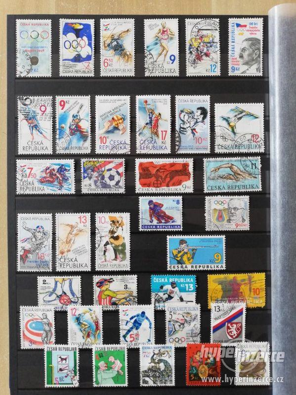 Prodám sbírku poštovních známek Česká republika 1993-2013 - foto 9