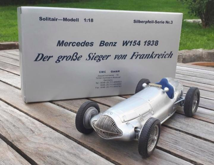 Mercedes Benz W154 1938 - foto 1