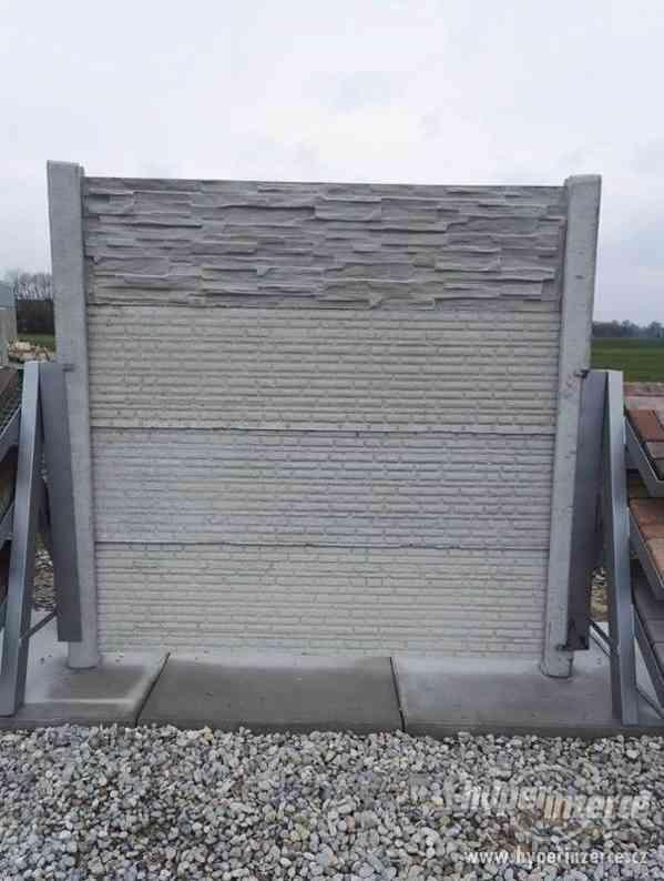 Betonový plot - foto 2