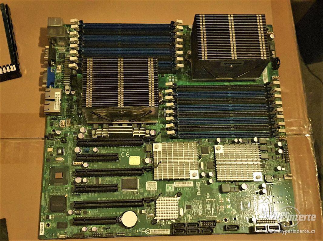 Supermicro H8DGi-F, AMD Opteron 6272 16 x 2.1 GHz, 16GB DDR3 - foto 1