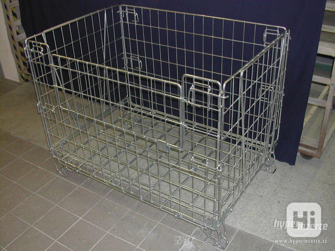 Skládací drátěný box - skladem - foto 1