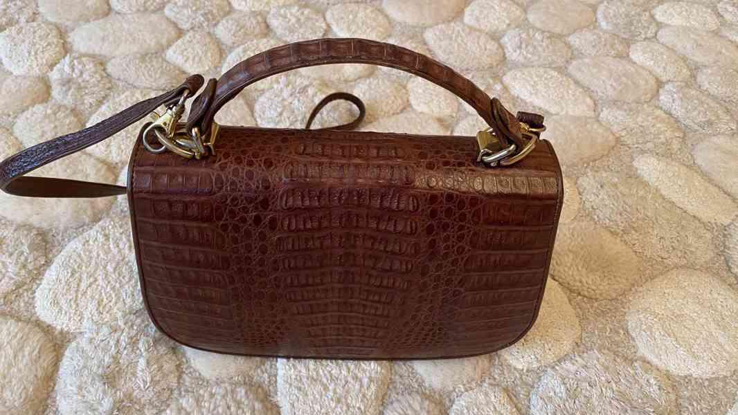 kabelka z krokodýlí kůže - foto 2