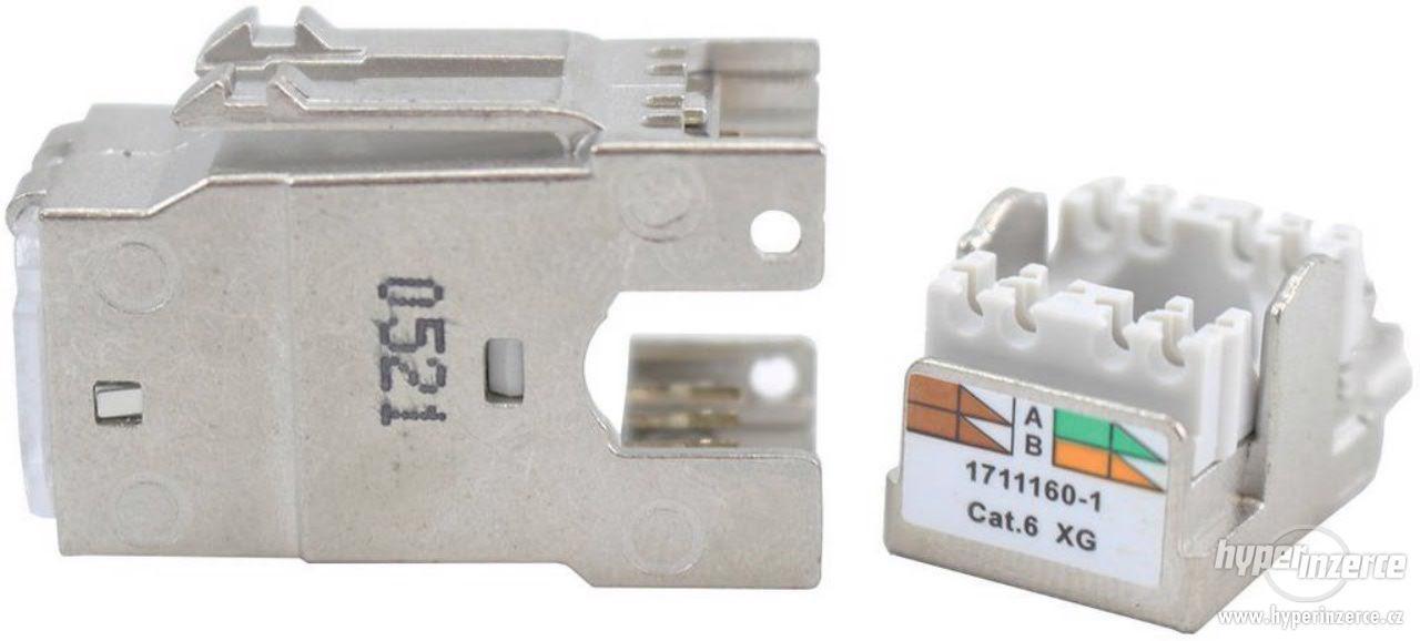Cat. 6 Keyston TE Connectivity AMP-Twist SL 0-1711160-1