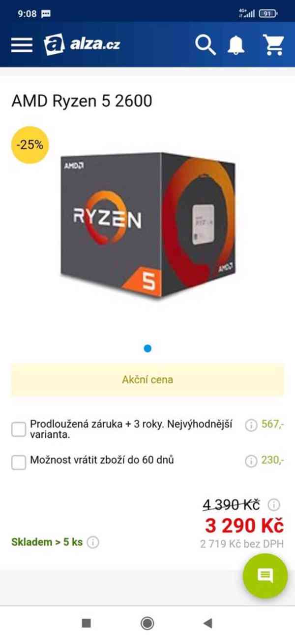 Herní PC AMD Ryzen 5 - foto 6