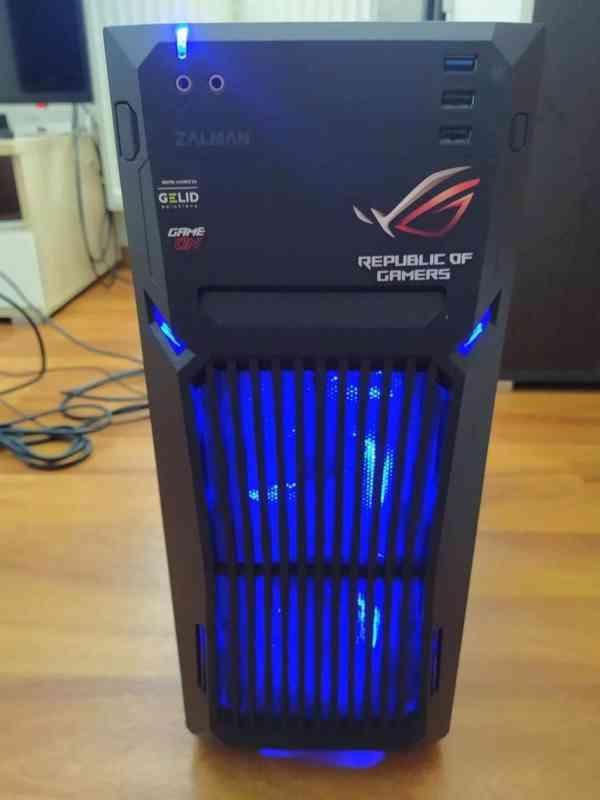 Herní PC AMD Ryzen 5 - foto 1