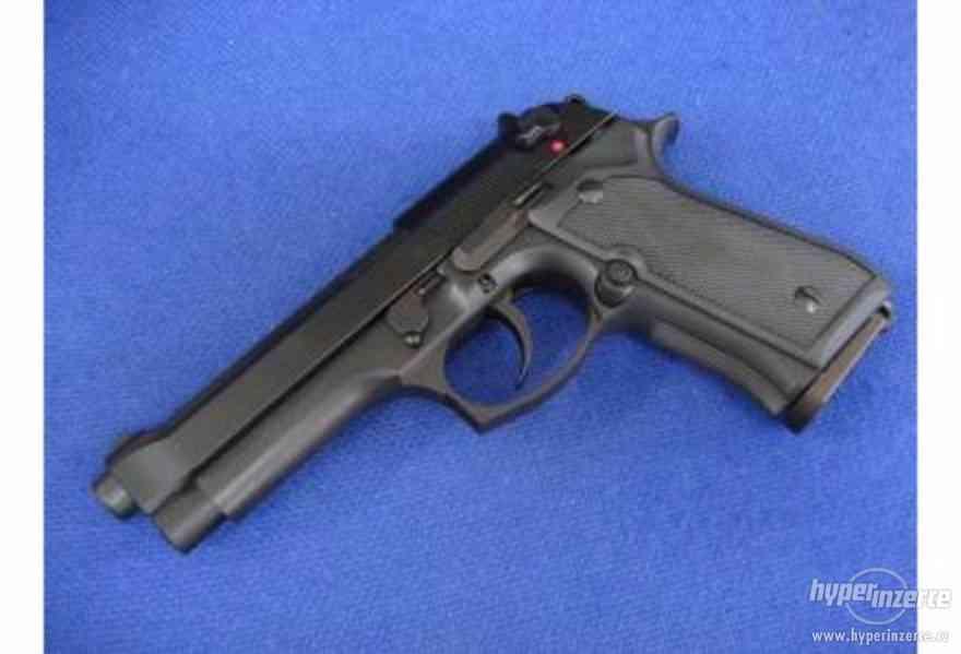 AirSoft Pistole ASG Beretta M92 Metal Slide