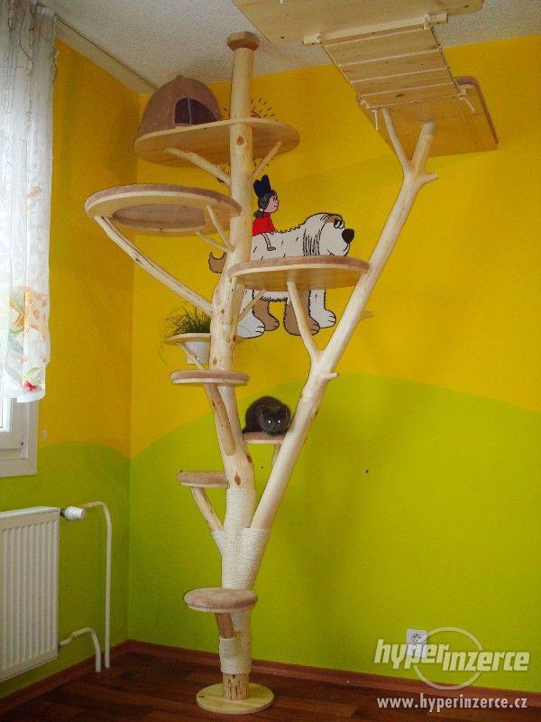 kočičí strom / škrabadlo