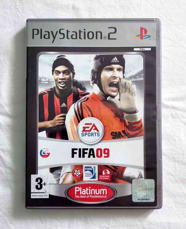 PS2 - FIFA 09 (FIFA 2009), česky