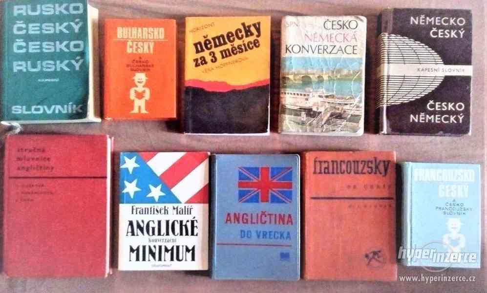 Slovníky,učebic. pro samouky, +další jazykové knihy - LEVVNĚ - foto 3