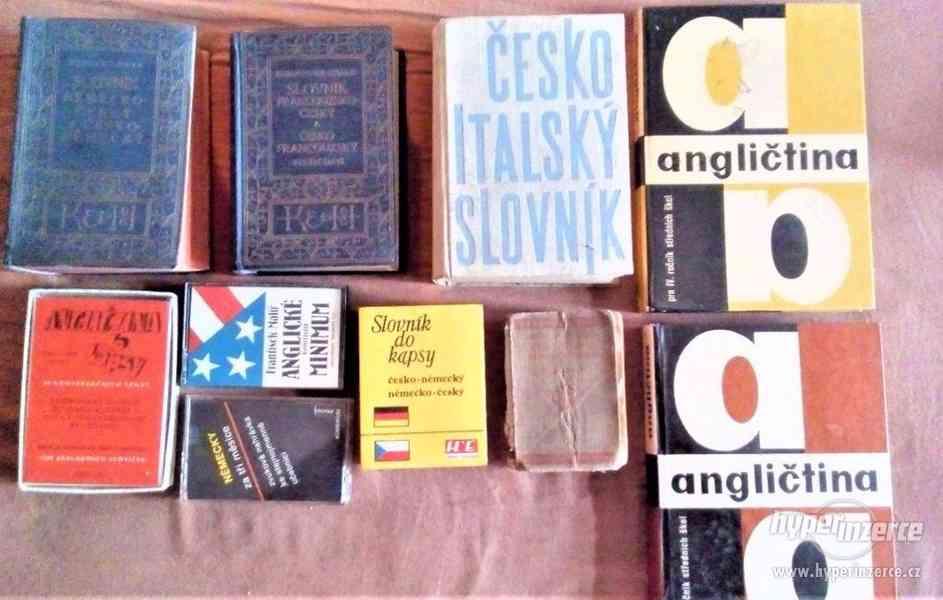 Slovníky,učebic. pro samouky, +další jazykové knihy - LEVVNĚ - foto 4