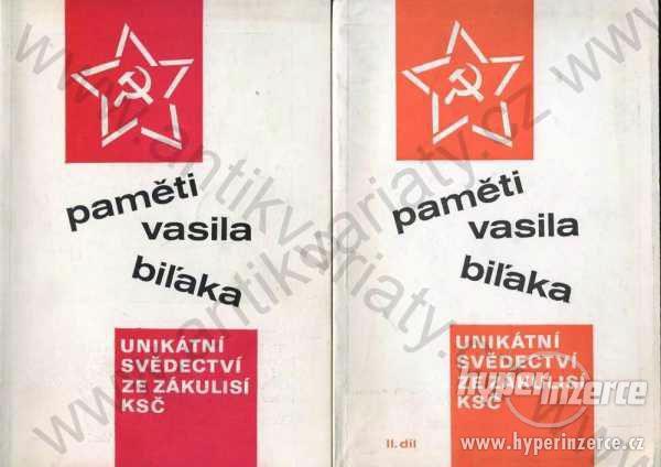 Paměti Vasila Biľaka 1991