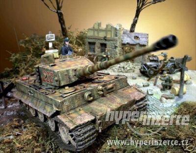 GERMAN TIGER I  M. Wittmann (Forces of Valor) 1:16 - foto 2