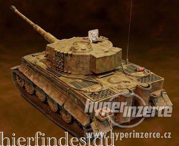 GERMAN TIGER I  M. Wittmann (Forces of Valor) 1:16 - foto 5