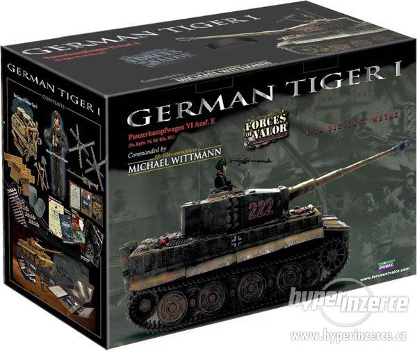GERMAN TIGER I  M. Wittmann (Forces of Valor) 1:16 - foto 6