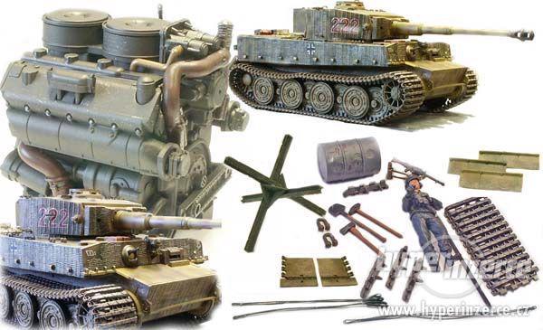 GERMAN TIGER I  M. Wittmann (Forces of Valor) 1:16 - foto 8