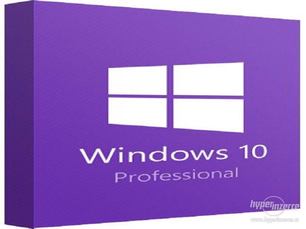 WINDOWS 10 PRO PROFESSIONAL / KLÍČ / LICENCE - foto 1