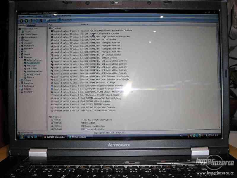 Pěkný výkonný Lenovo 3000 N200 2x2000GHz/3GB/250GB/15,4 - foto 3