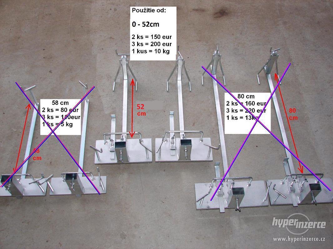 vyrovnavací souprava nivelační souprava zakladací vozík - foto 1