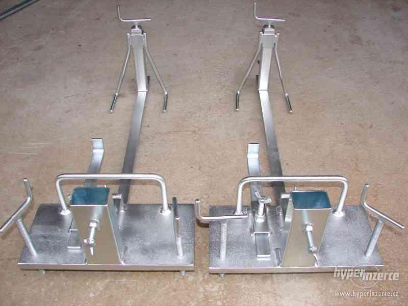 vyrovnavací souprava nivelační souprava zakladací vozík - foto 3