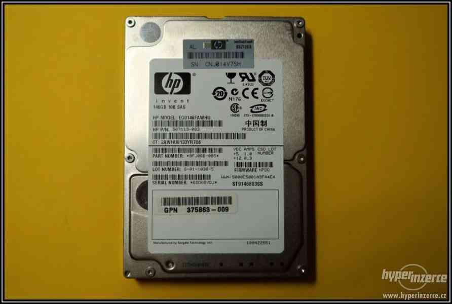 "Disk HP 146GB SAS 2,5"" 10K 6G HotPlug 507119-003"