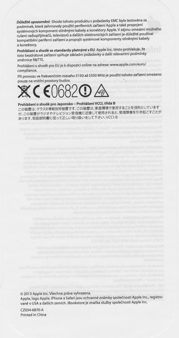 prodám iPhoneC5