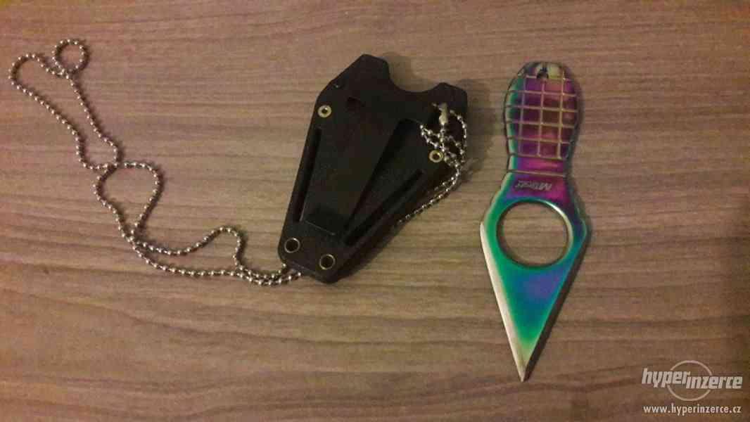 Prodám vrhací nůž MTECH - foto 4