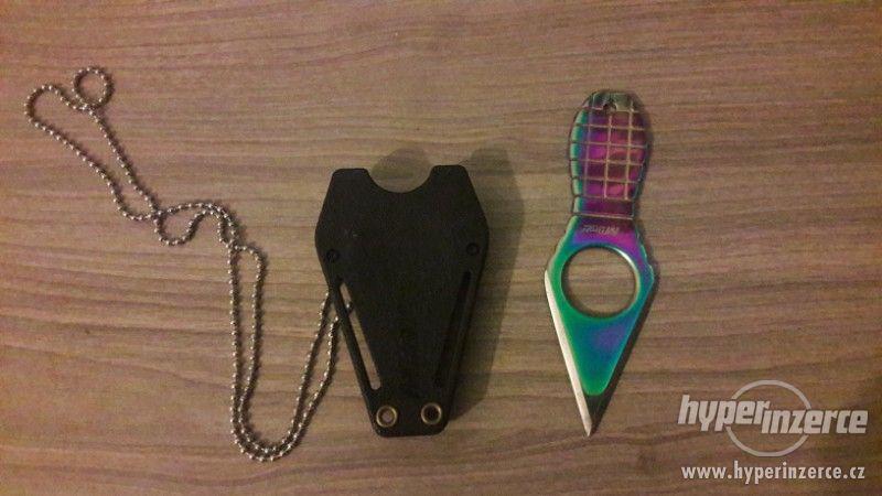 Prodám vrhací nůž MTECH - foto 3