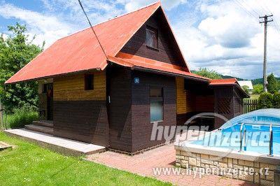 Ubytování v chatě pro 4 osoby bazén, vířivka, masáže, wifi