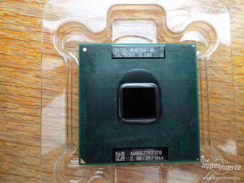 Procesor - Intel Core 2 Duo Mobile P 7370 - foto 3