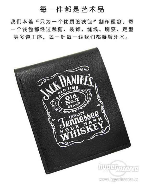 peněženka Jack Daniels Black Cotton/Leather