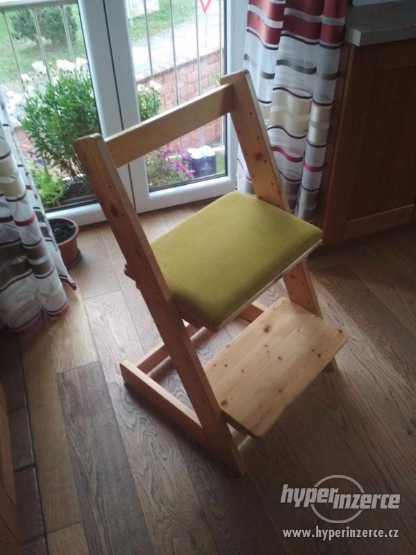 Dětská rostoucí židlička (2 ks, prodej i po 1 ks)