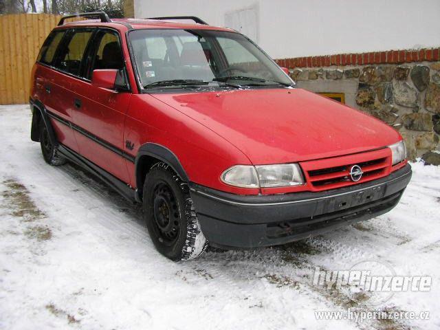 Opel Astra RV. 92 -99 náhradní díly