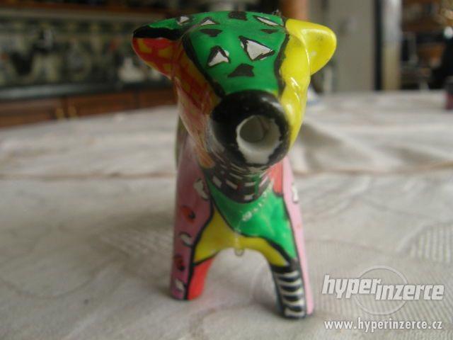 Porcelánová kravička - mléčenka - foto 3