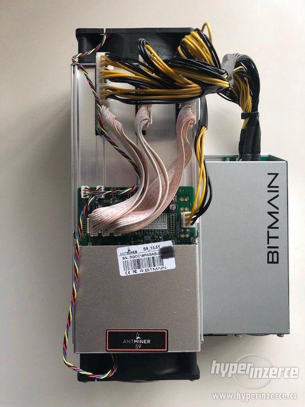 Antminer S9 14 TH/S 16nm ASIC Bitcoin Miner - foto 2