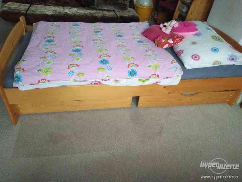 Dětská postel s matrací - foto 1