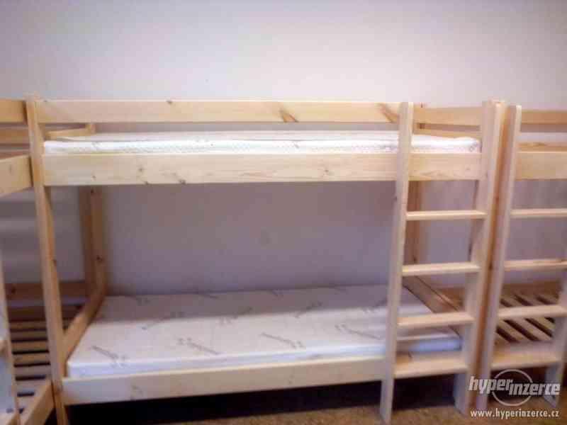 Palanda , patrová postel z masivu, NOVÁ