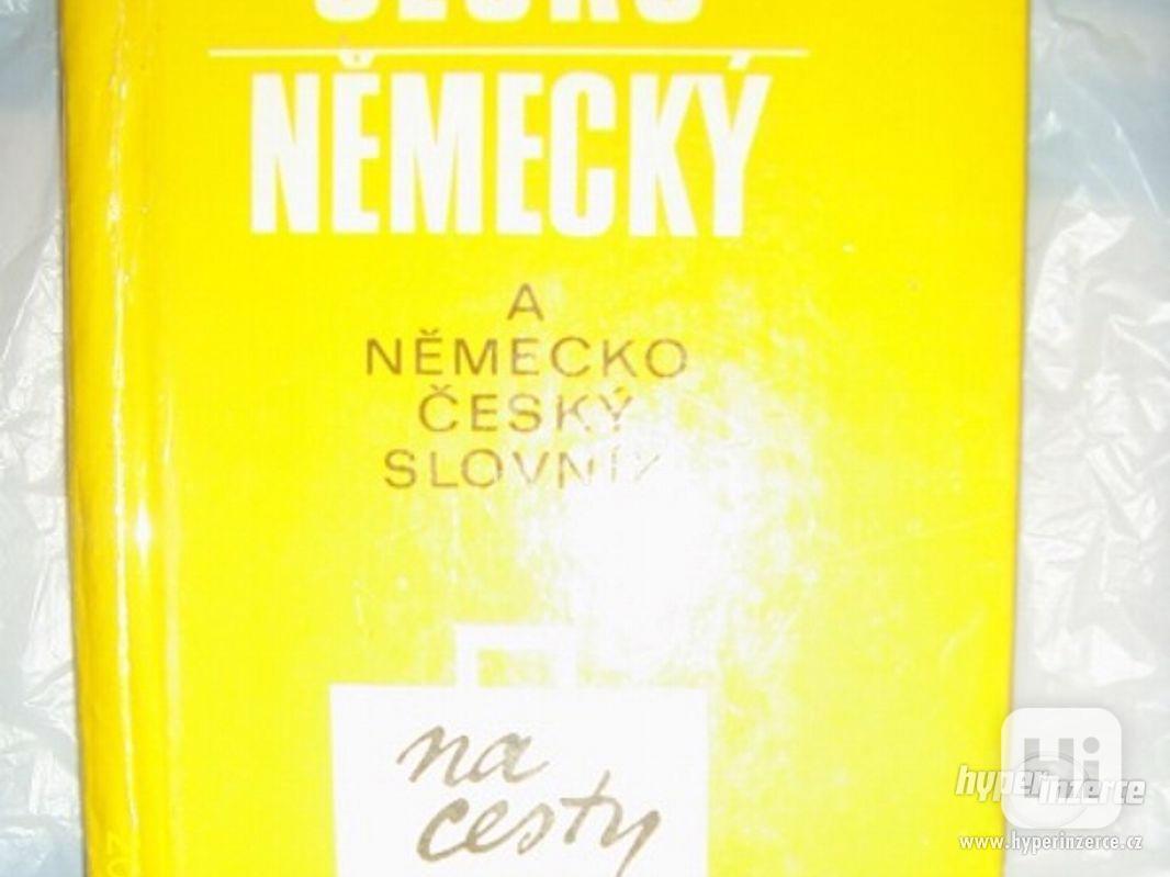 česko německý a německo - český slovník na cesty - foto 1