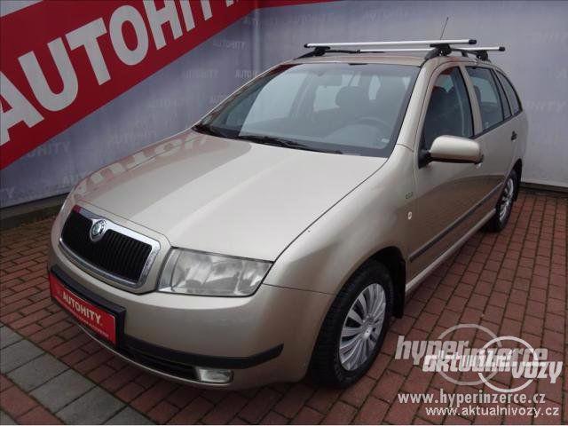 Škoda Fabia 1.2, benzín, r.v. 2004, el. okna, STK, centrál