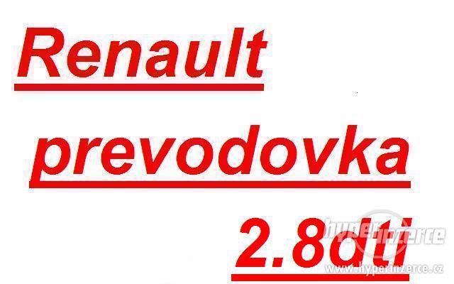 Renault prevodovka MASTER 2.8dti prevodovka master PF1 prevo